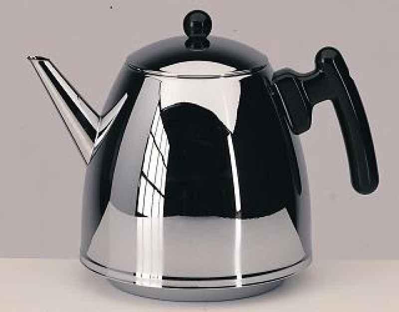 Teekanne Duet Classic schwarz 1,2 l