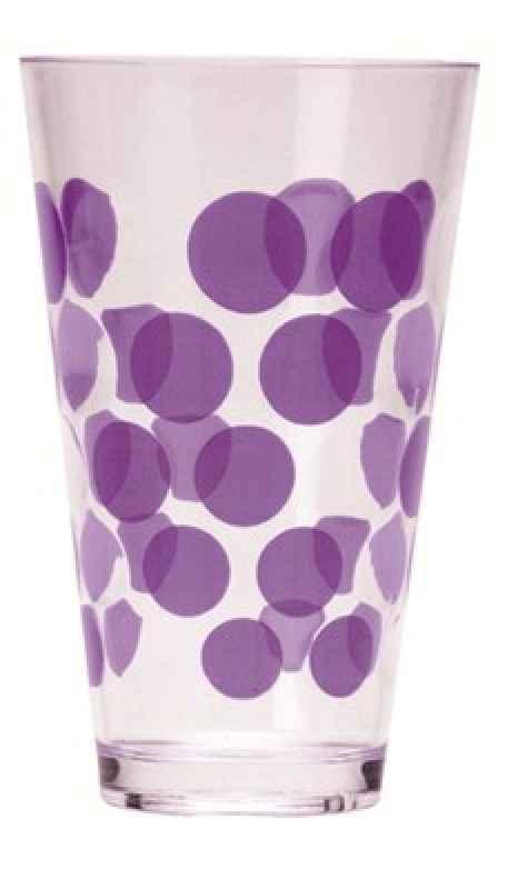Dot Dot Trinkbecher violett