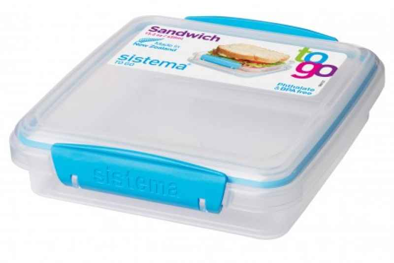 Sandwichbox To Go blau 450 ml