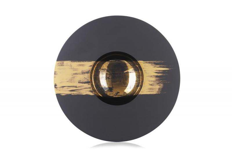 SPHERE KUGEL-TELLER Schwarz Real gold Tempo 2