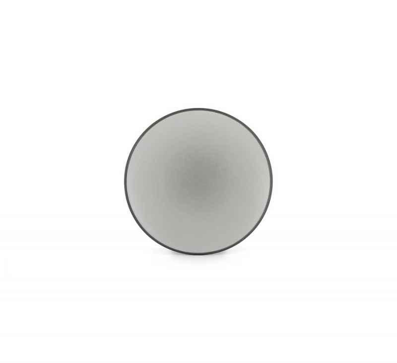 EQUINOXE FLACHER TELLER/BROTTELLER 16 cm Pfeffer