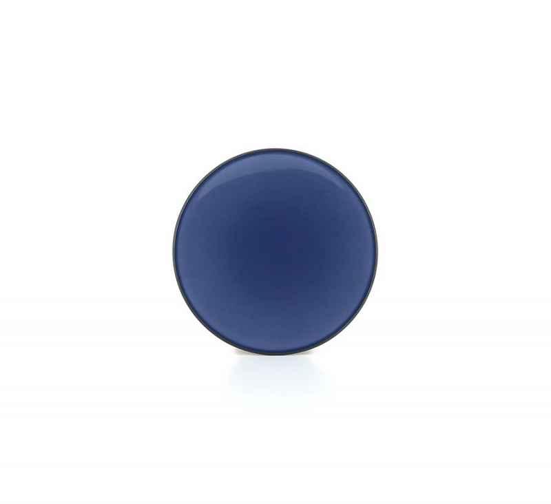 EQUINOXE FLACHER TELLER/BROTTELLER 16 cm Cirrusblau