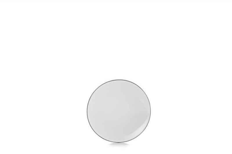 EQUINOXE FLACHER TELLER/BROTTELLER 16 cm Weiss Kumulus