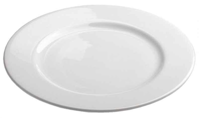 ALASKA DESSERTTELLER 17 cm Weiss