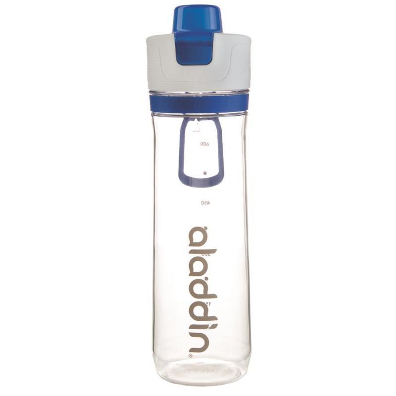 Trinkflasche 0.8L Active Hydration Tracker, Blau