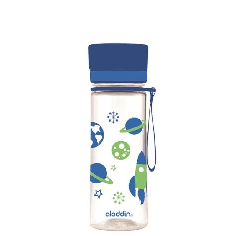 Aveo KIDS Wasserflasche, 0.35L, Blau mit Grafik