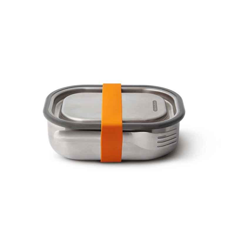 Lunch Box 600 ml Edelstahl Orangel
