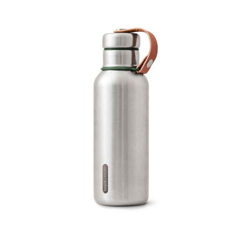 Wasserflasche 500 ml Isoliertes Edelstahl Olive