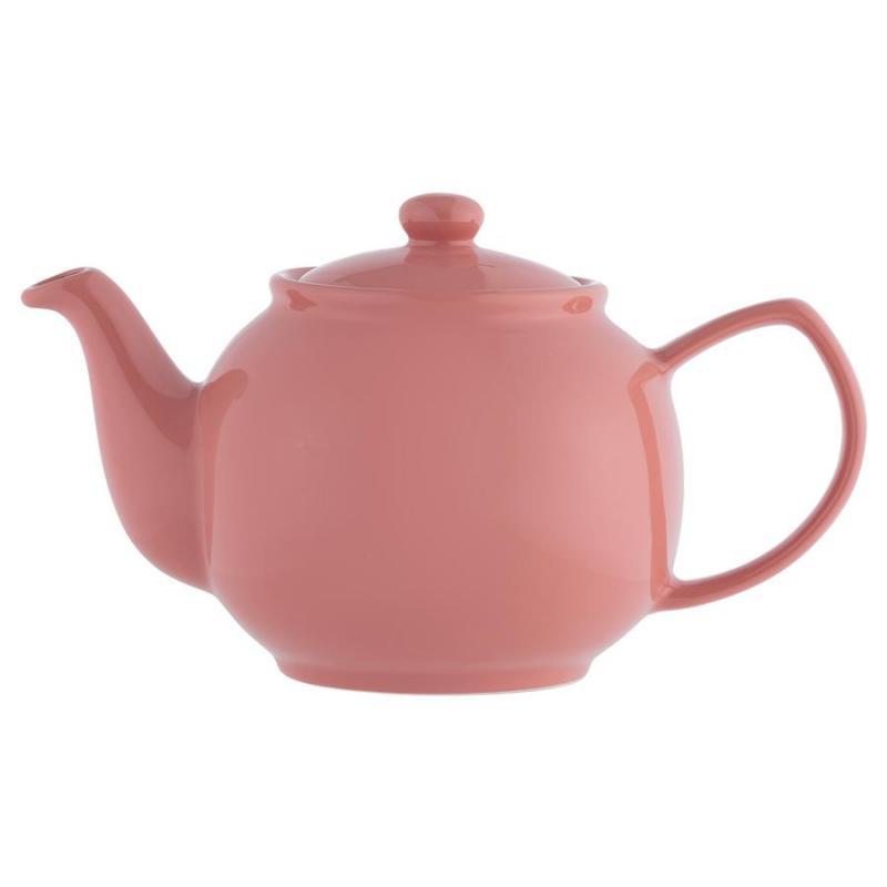 Teekanne 1100 ml brilliante Farben flamingo, für 6 Tassen