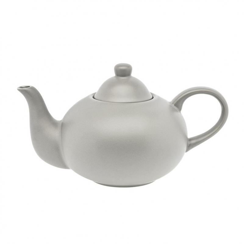 Teekanne 1,2 ltr. CERA-DESIGN Silver