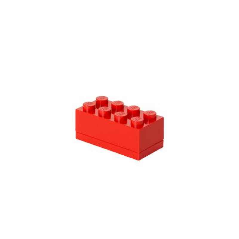 LEGO MINI BOX 8 rot
