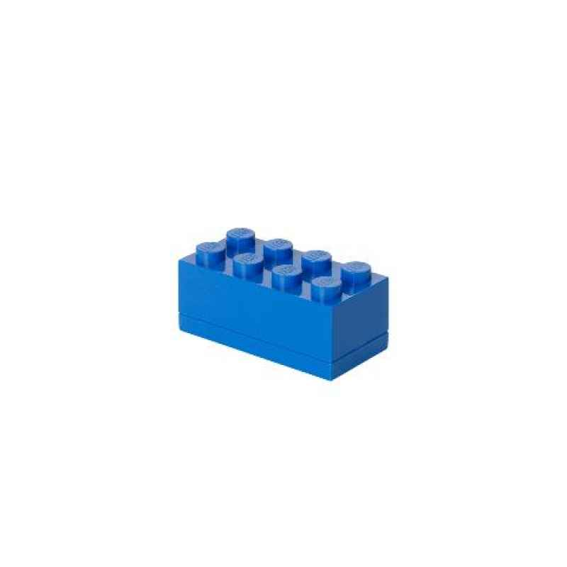 LEGO MINI BOX 8 blau