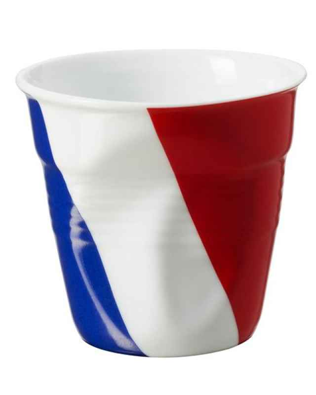 Knickbecher Espresso 0,08 Flagge France