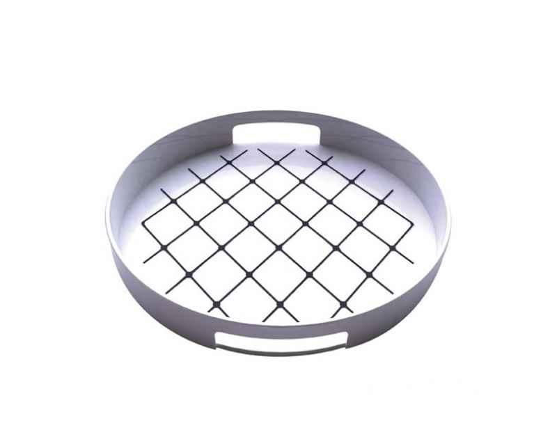antirutsch gallery tablett rund 30 cm wei zak designs glas und keramik shop. Black Bedroom Furniture Sets. Home Design Ideas