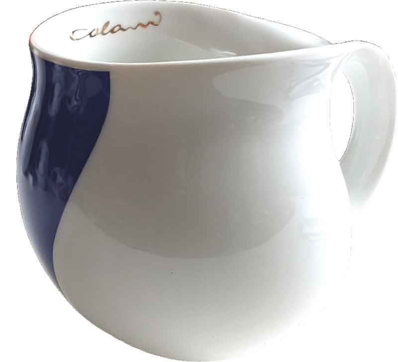 Colani Kaffeebecher arrow blue