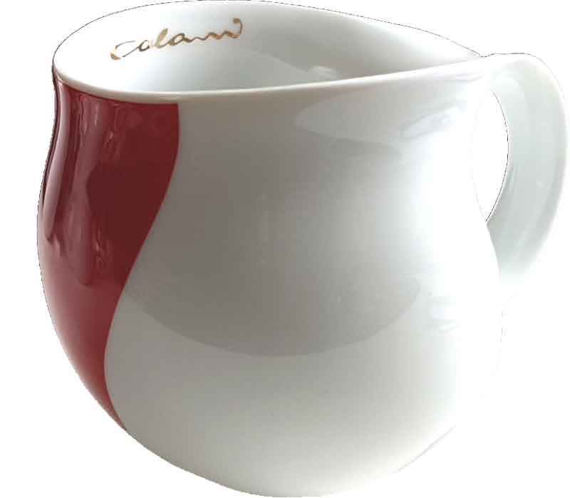 Colani Kaffeebecher arrow red