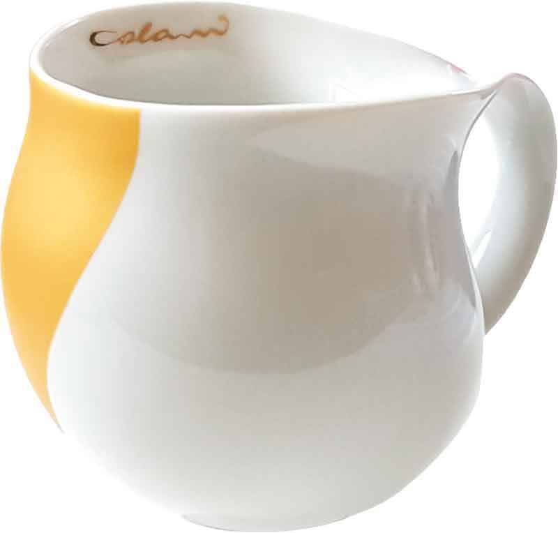 Colani Kaffeebecher arrow gold