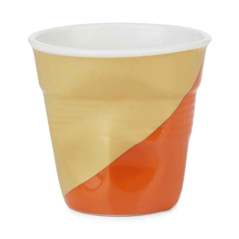 Knickbecher Espresso 0,08l  Twist orange unten
