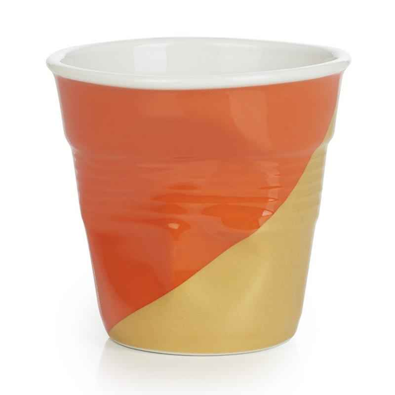 Knickbecher Espresso 0,08l  Twist orange oben