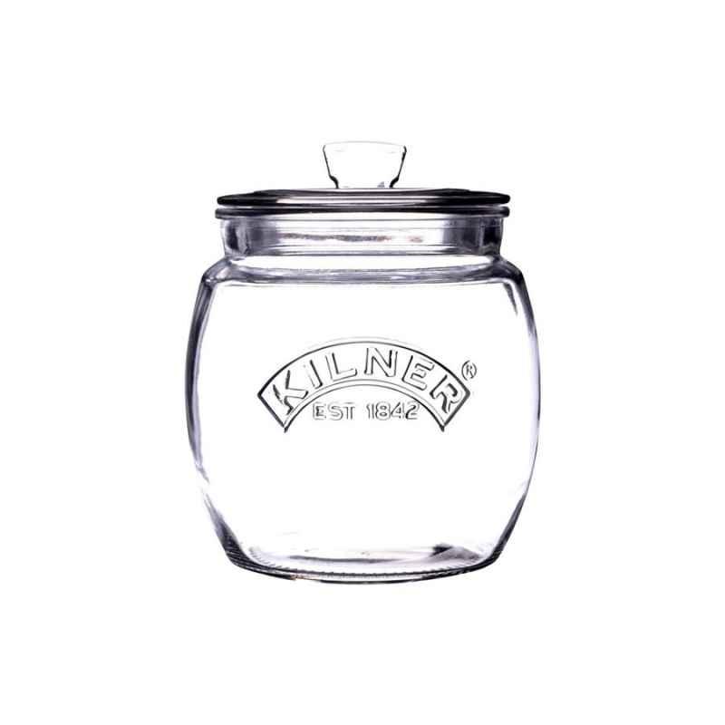 Universal Vorratsglas Mit Luftdichtem Deckel 085 Liter Glasmetall