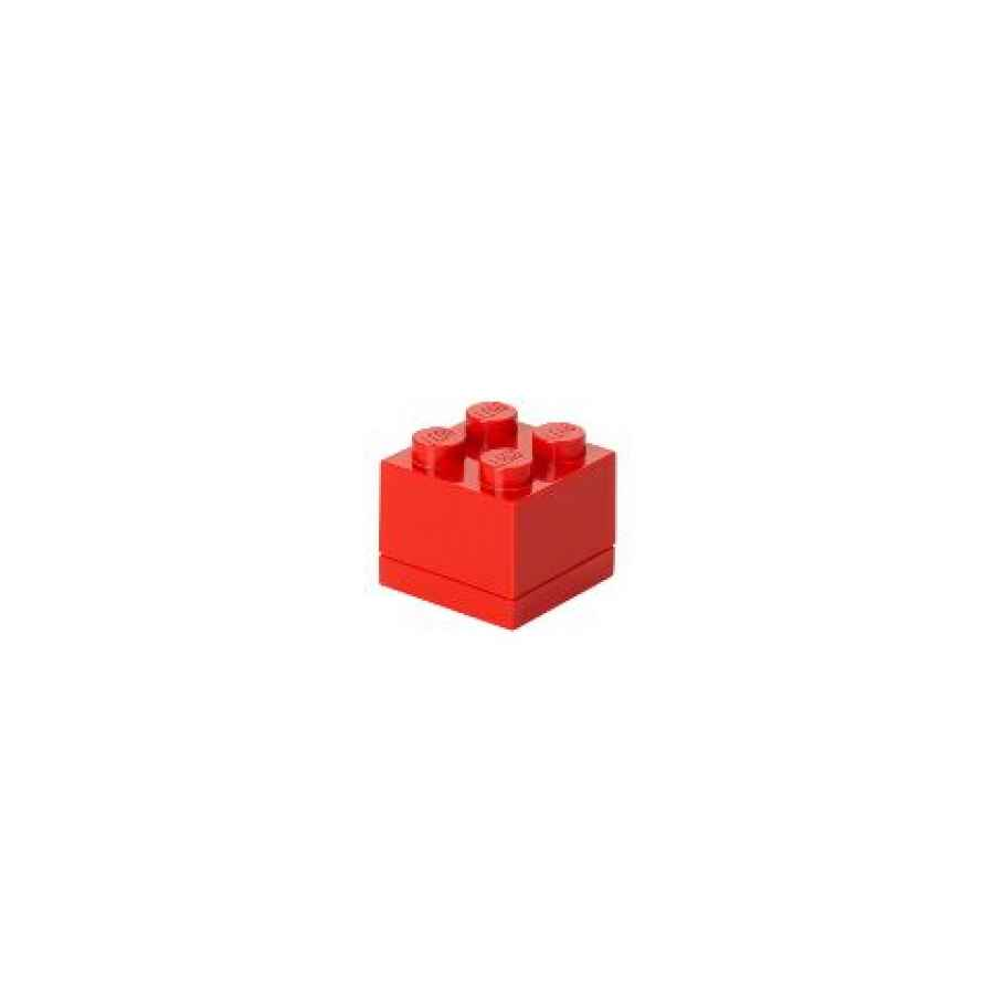 LEGO MINI BOX 4 rot