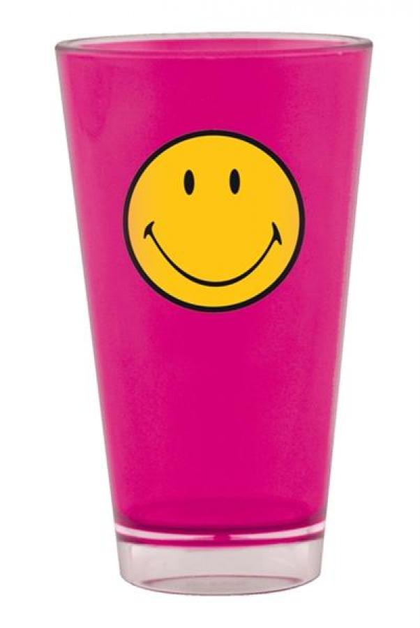 Smiley Becher fuchsia