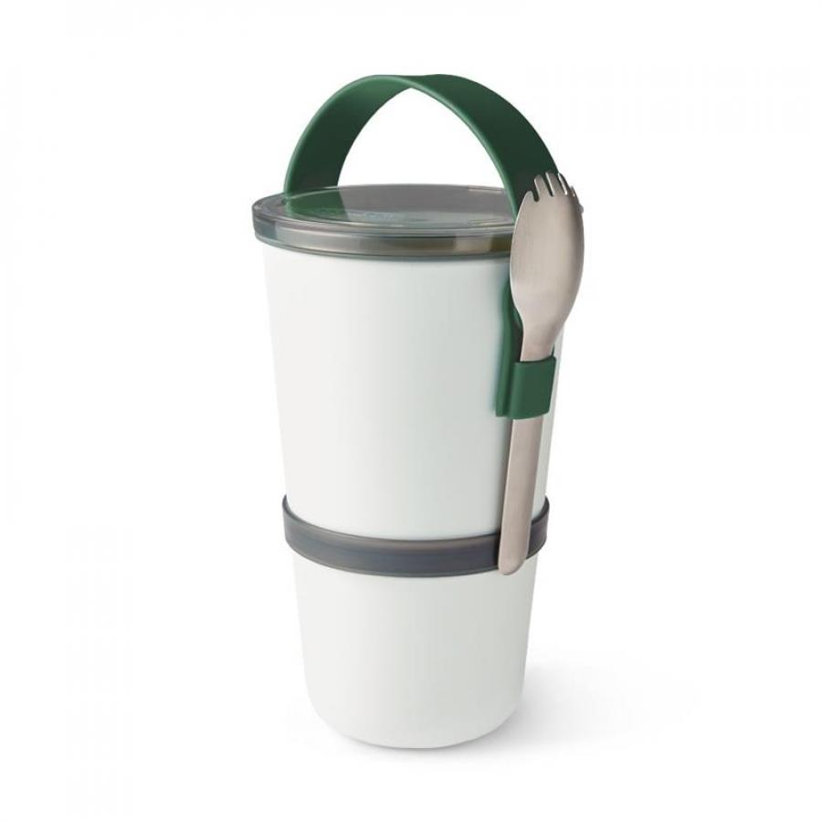 Lunchpot 900 ml ORIGINAL mit Göffel Olive